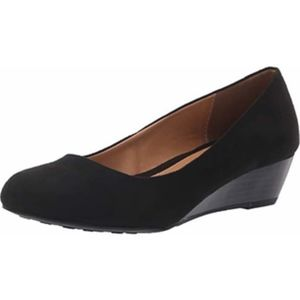 CL by Laundry Suede Marcie Wedge